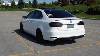 Volkswagen Jetta Rear Spoiler Carbon Fiber