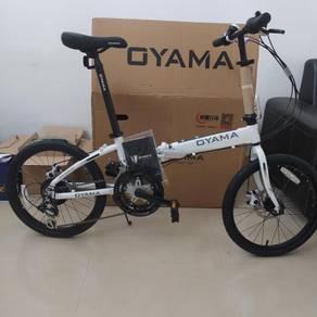 "OYAMA alloy 12 speed (2x6) 20"" (406) folding bike"