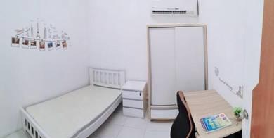 Subang/ Shah Alam Non Sharing Single Room at Avenue Crest, Near MSU