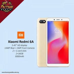 New Xiaomi redmi 6A [ 2+16gb ] m'sia set
