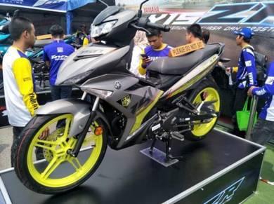 Yamaha Y15ZR Y15 V2-hantr motor service(low dp)