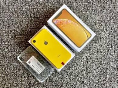 Iphone XR 128GB Yellow ~ Boleh Trade-In !!!
