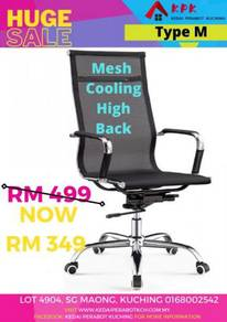 Ready stock Mesh Cooling High Back Chair