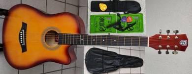 Acoustic Guitar Economy Techno 38C Sunburst