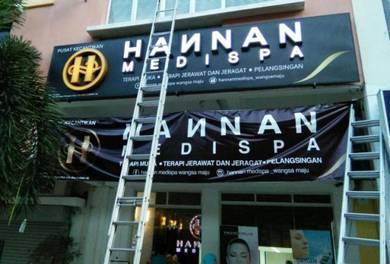 Pembuat Papan Iklan, Papan Tanda, Signboard