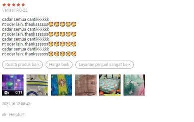 Cadar Reject Kilang 3 in 1 Size Queen borong
