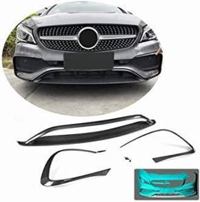Mercedes cla amg cla45 front bumper canard set pp