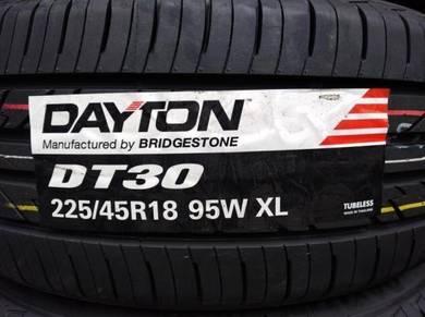 225/45/18 Dayton DT30 Tyre Bridgestone 2019 Tayar
