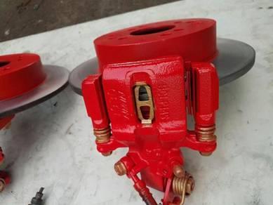 Upgrade brake belakang kelisa kenari alza myvi