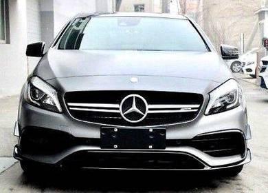 Mercedes benz w176 facelift a45 front canard PP