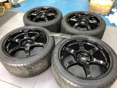 2015 Nismo GTR R35 GTR GTR35 20 inch Rim Wheels