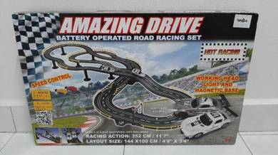 Speed Controlled Racing Cars With Track