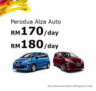 Rental Perodua Alza 1.5 (A)