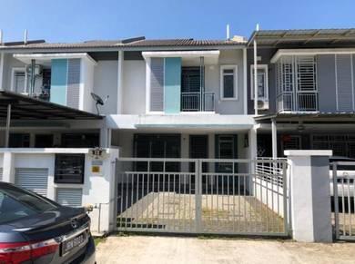 Double Storey Terrace House at Taman Nusa Bayu