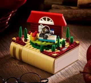 LEGO Bricktober 2021 Little Red Riding Hood