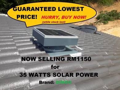 Solar roof attic ventilator Brand: DINGO