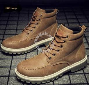 Men's Fashion Leather high-top MARTIN boots