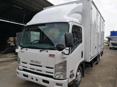 Isuzu Npr box van /Hino Fuso Hicom box van/7500kg
