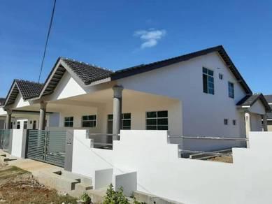 Rumah Berkembar Baru Sesuku Tingkat Di Tg. Lumpur, Cempaka Jaya, KTN