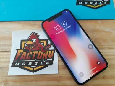 Apple Iphone X [64/256GB] Original Set foc 3item