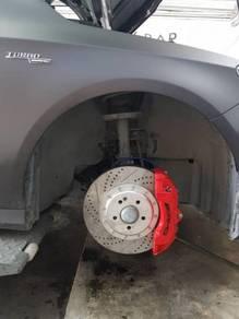 Brembo 18z AMG 6pot 355mm MERCEDES A250