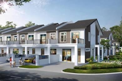 Rumah Teres 2 Tingkat - Intermediate Corner Lot