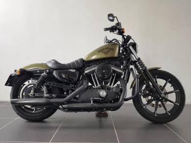 Harley Davidson XL883N w/ Custom Exhaust ( 48 )