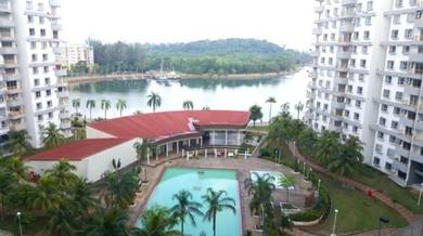 Fully Furnished Apartment at Bayview Villas Condo port Dickson for ren