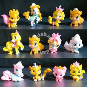 Princess Palace Pets Mini Figurine Toy Set
