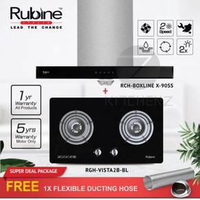 Rubine 1400m3/hr T-Hood BoxlineX & Hob Vista2b-bl