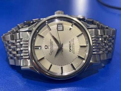 Omega Constellation Pie Pan Automatic Date
