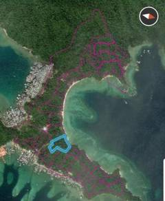 Beach Land in Pulau Gaya with DP Approved