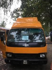 Hicom 3 Tan Lorry WRG 8431