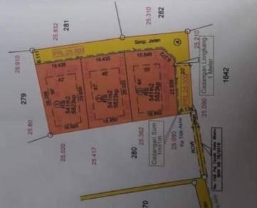 Lot Banglo Padang Mokkan Dekat Jalan Besar