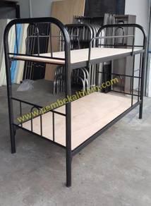 Katil Asrama Besi Kukuh / Solid Metal Bed