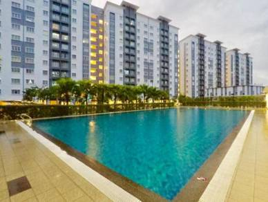 Seri Intan Apartment (Low Entry to own a House) Shah alam   Setia Alam