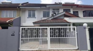 Last price (100% loan) Renovated 2 Storey House at Taman Puchong Intan