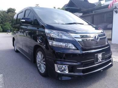 2013 Toyota VELLFIRE 3.5 V L-EDITION FACELIFT (A)