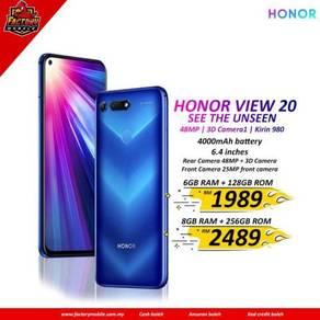 Honor View 20 [ 6+128 & 8+256 ] New Original set