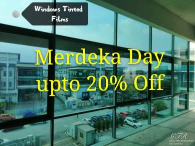 Building Window Tinted [Merdeka Day Offer]