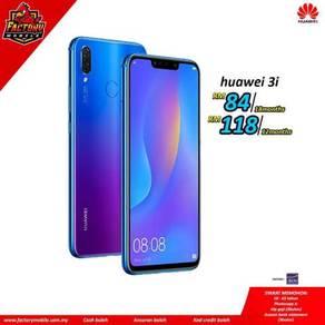 Huawei Nova 3i [ 4+128GB ] M'sia set Foc 3 Item