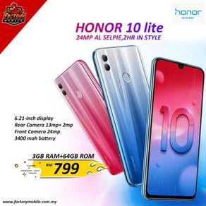New Honor 10 Lite [ 3+64gb ] original Myset