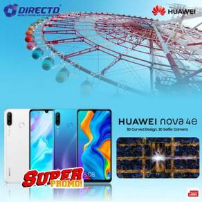 HUAWEI Nova 4E (6GB/128GB | MY set) SUPER PROMO