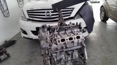 Car Repair Enjin Overhaul Engine Nissan Teana