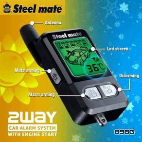 Steelmate 898G 2ways auto start alarm ori