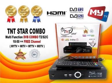 TNT Combo T2/S2 DVB (ORIGINAL) for MYTV