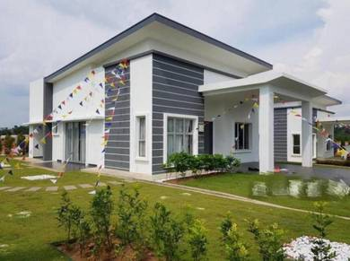 New Single Storey Bungalow / Gated & Guarded / 0 DP / Seremban South