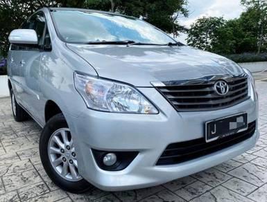 2013 Toyota INNOVA 2.0 G (A) FACELIFT FULL