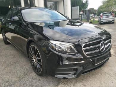 2018 Mercedes Benz E300 2.0 AMG LINE (CKD) (A)