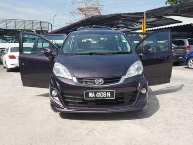 Perodua ALZA 1.5 ZHP ADVANCED (A)FulLoan,Leather